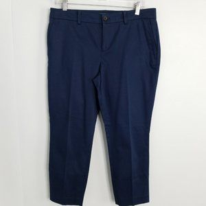 Ralph Lauren 10P navy blue chinos CROPPED pants